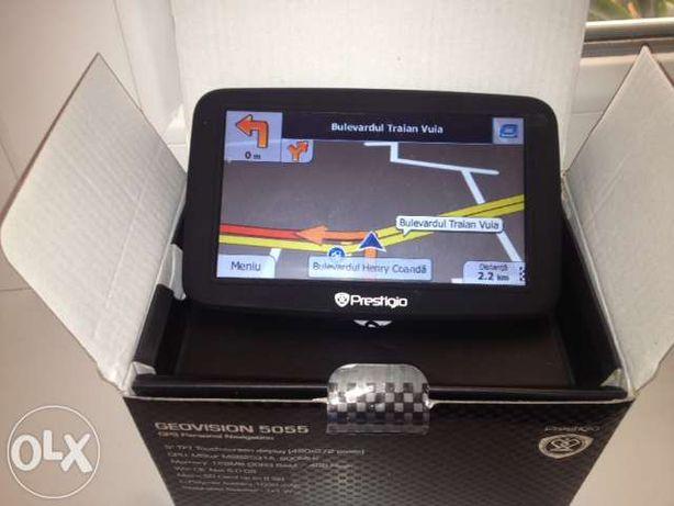 Navigatie NOUA GPS PRESTIGIO display mare Primo Europe actualizata