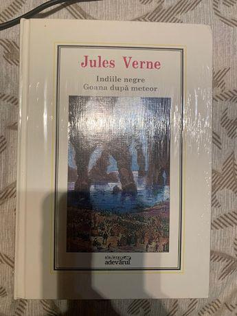 Vand cartea Indiile negre si Goana dupa Meteor de Jules Verne