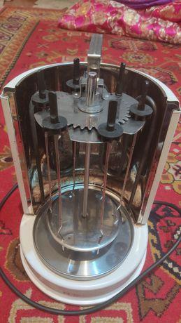 Вертикальная электрошашлычница
