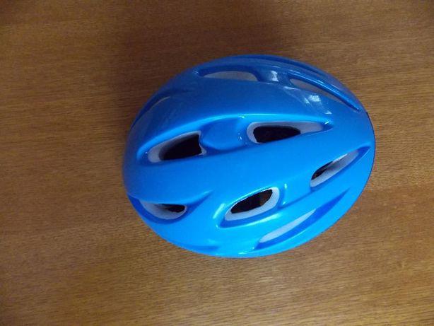 Casca bleu pentru bicicleta/role marimea xs si set protectie maini