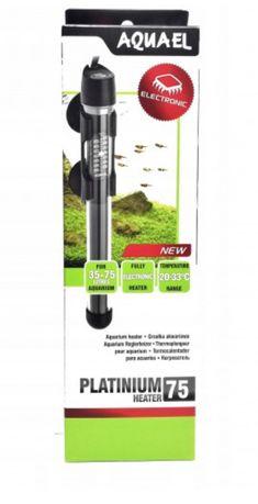 Aquael Platinium Heater 75w, 35-75 литров