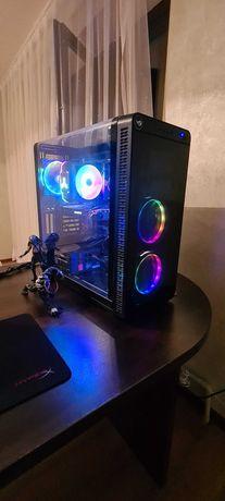 Корпус termaltake view 37 RGB + кулер на процессор jonsbo cr 1100.