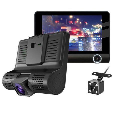 Видеорегистратор Media-Tech T319 - Full HD, 3 камери, нощно HDR