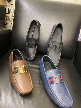 Mocasini pantofi sport Louis Vuitton LV piele naturala PREMIUM