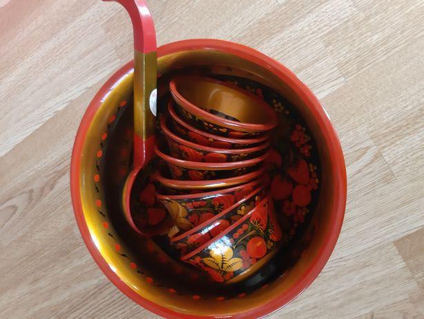 Деревянная чашка(россия)