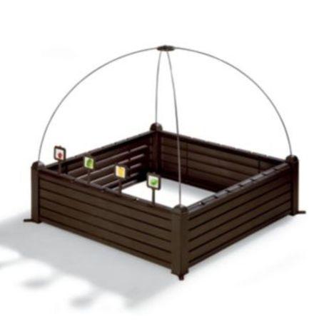 Комплект за градинско легло Keter 17192097, За билки и зеленчуци,