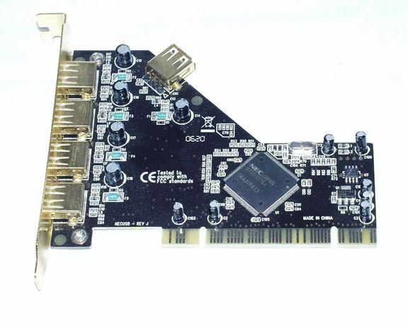 Placa PCI 5 porturi USB