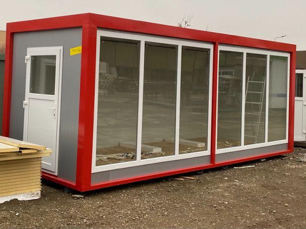 container izolat birou ieftin organizare santier vestiar containere
