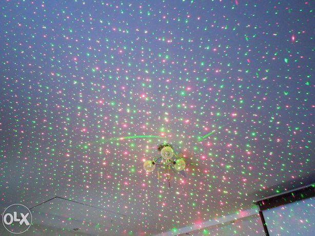 Laser disco /club verde+rosu explozie de puncte Model YX-09 Original!