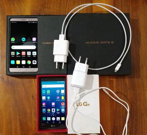 2 telefoane la pret de 1 Huawei Mate 8 64GB DualSim ACTIV + LG G4 Dual