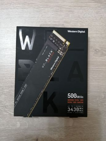 Solid-State Drive (SSD) WD Black SN750 NVMe, 500GB, M.2
