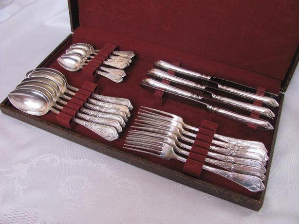 Tacamuri argint masiv 800 stilul art nouveau