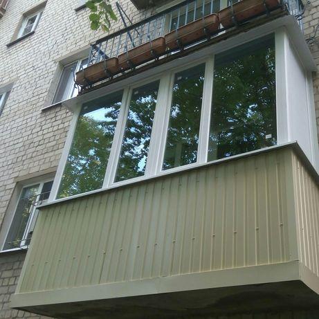Компания Балкон выполнит отделку лоджий балконов под ключ!