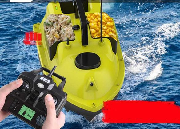 Лодка за захранка с GPS и автопилот