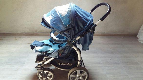 Комбинирана детска количка X lander xa