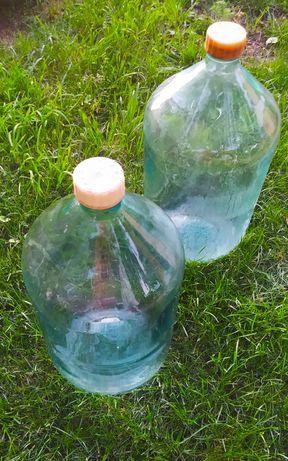 Бутыль стекло 20 л.