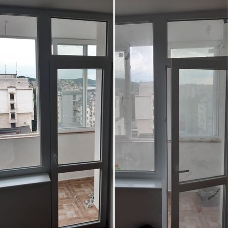 Почистване на прозорци с професионални аксесоари