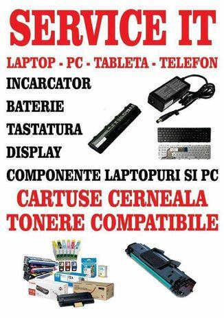 SERVICE IT Reparatii Laptop / Pc Instalare Windows / Incarcare Cartuse