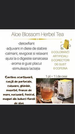 Aloe herbal tea