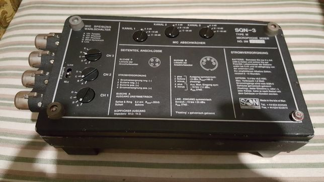 Mixer audio portabil