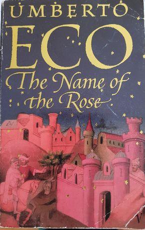 Numele trandafirului - Umberto Eco the name of the rose in l engleza