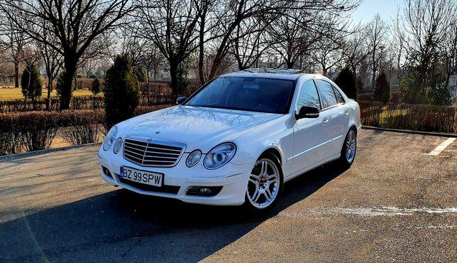 Mercedes FACELIFT E W211 2007 FULL, gaz-CNG, schimb doar cu X