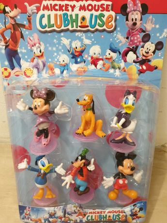 6 figurine cu talpa Daffy Pluto Minnie Mickey Mouse