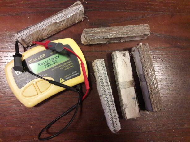 Lot 4+1 pachete termogeneratoare pt. lampa curent radio vechi colectie