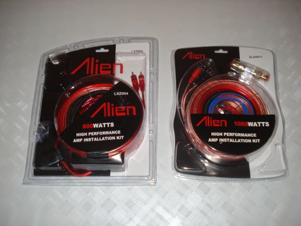 set cabluri subwoofer 800w si 1000w amplificator cabluri boxe masina