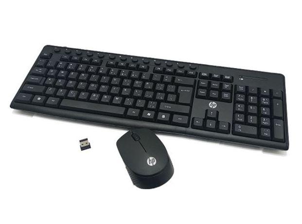 Клавиатуры для ПК беспроводной клавиатура и мышь HP CS700 Black