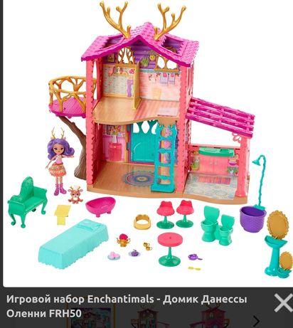 Игровой набор Enchantimals - Домик Данессы Оленни FRH50