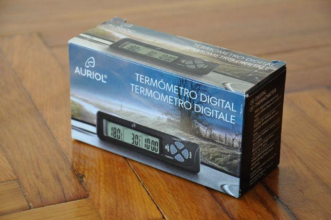 Statie meteo,termometru digital intrior/exterior,camping,auto