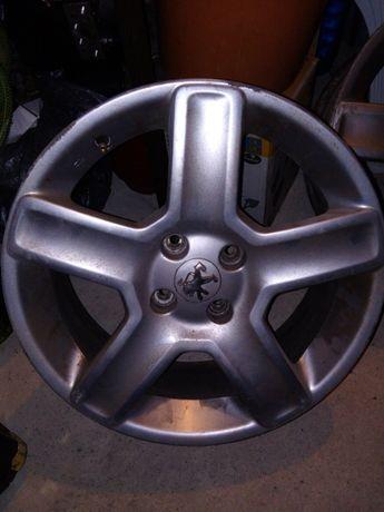 Оригинални 17 цола алуминиеви джанти за Пежо 307
