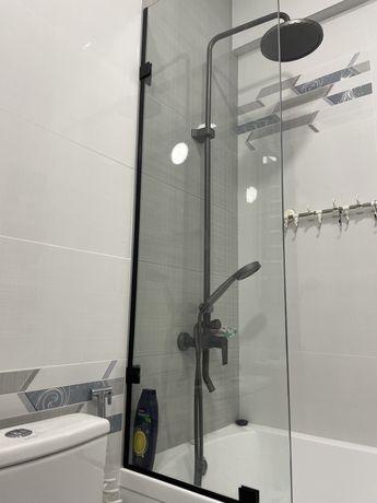 Стекло шторка для ванны