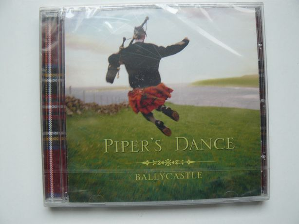 CD Scotish Music PIPER'S DANCE–BALLYCASTLE Nou, Sigilat, Original UK