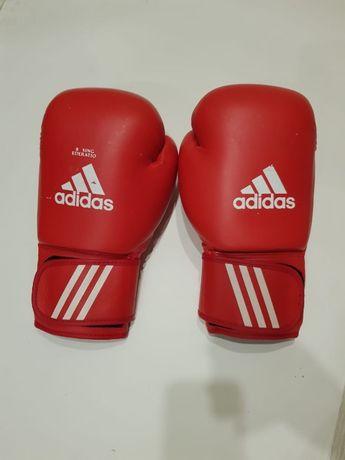 Боксерские перчатки профессиональные Adidas. Размер 10.