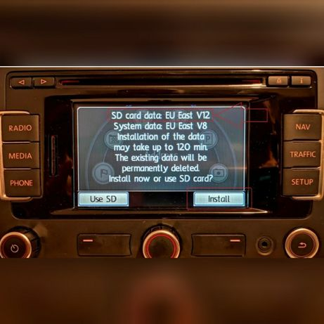 Harta Navigatie RNS315 si RNS510 2021 Ro Harti Skoda Seat VW Amundsen