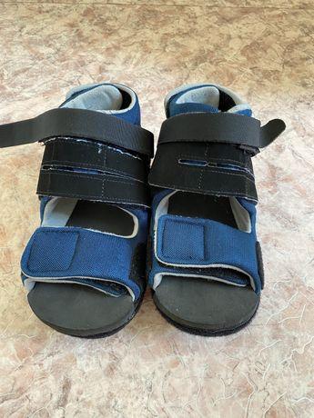 Барука, обувь ортопедическая послеоперационная