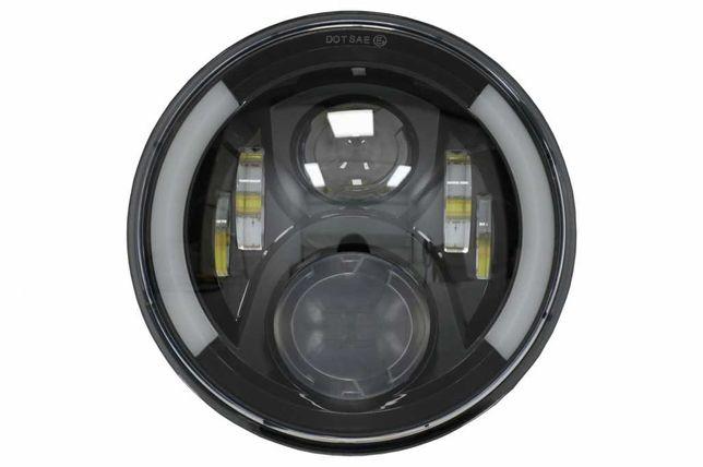 Far Motocicleta 75W 7 inch IP67 H4 LED Honda Hornet  VTR250 VTEC400