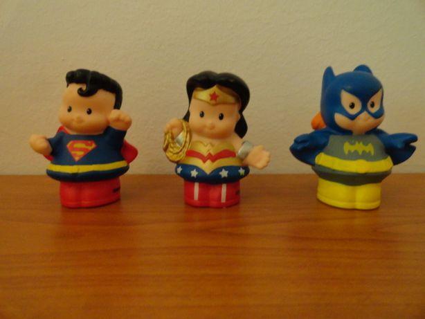 3 figurine colectie Fisher Price - Little People - Super Eroi