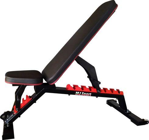 Професионална, двойно регулируема фитнес пейка (лежанка) MJ Sport