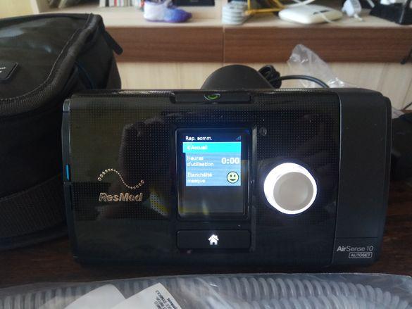 ЧИСТО НОВ!!! Автоматичен апарат за сънна апнея Resmed Autoset 10