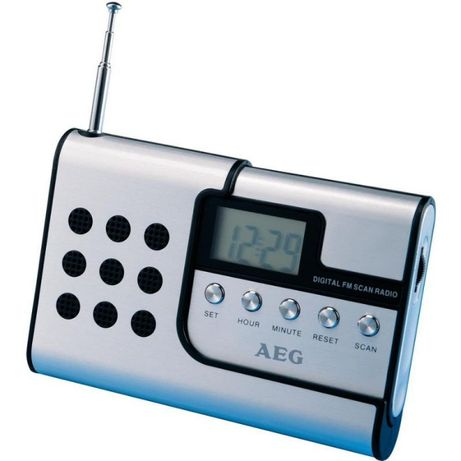 Радиочасовник AEG