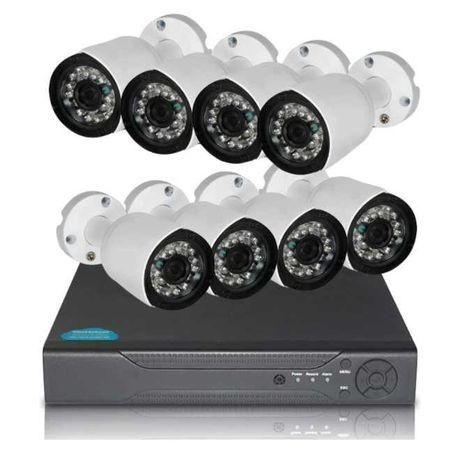 Комплект за видеонаблюдение - 8 канален DVR с 8 камери