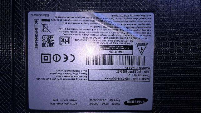 samsung UE40JU6000WXXH UHD 4K