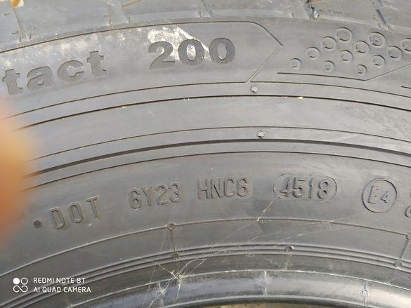Чисто нова гума за бус Continental, платова, усилена