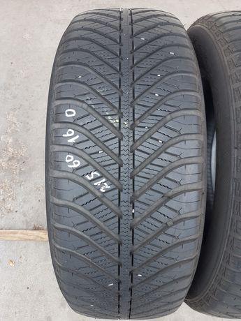 Всесезони гуми 2 броя GOODIYEAR Vector 4Seasons 215 60 R16 дот 1117