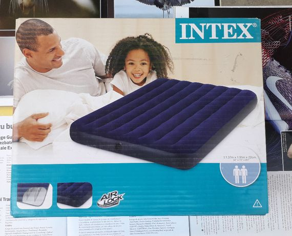 Saltea de dormit gonflabila INTEX 191 x 137 x 22 cm