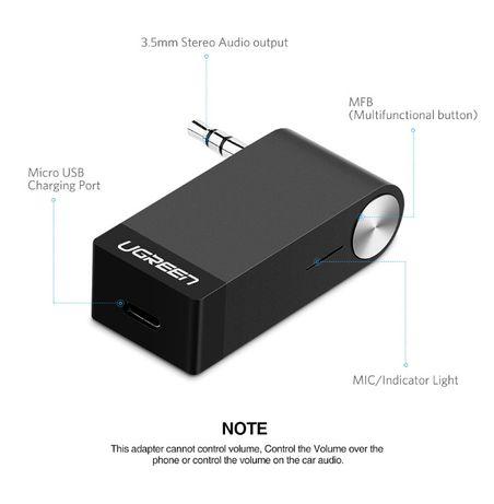 Bluetooth Receiver Ugreen 4.1 - Sigilat