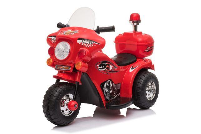Mini Motocicleta electrica cu 3 roti BJQ991 25W STANDARD #Rosu
